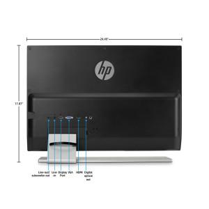 HP Envy 27-Inch backside